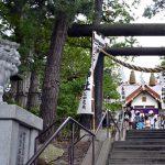 手稲神社のお祭りです