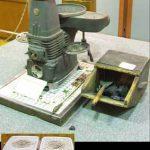北海道庁に展示されていた石炭ストーブ
