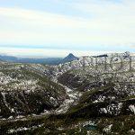 空から見る黄金山・青山ダム・人がいなくなった集落