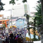 手稲神社のお祭りで引いたおみくじは末吉