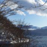 支笏湖から見た樽前山は すんごく珍しい山らしい