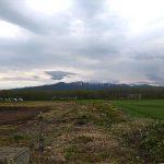 手稲山の残雪が少なくなりました (2015)