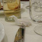 お正月には箸袋で作る鶴の箸置き