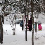 札幌いきなり真冬日で、とうとうドカ雪