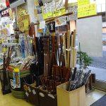 今も昔も洞爺湖のお土産、木刀が人気