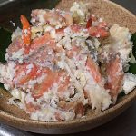 特売の鮭で作った飯寿司でもウマいっしょ