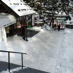 札幌の雪は、比べてみるとこれだけ少ない