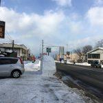 雪に埋もれても函館まで267Km