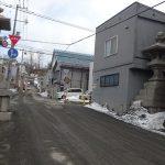望郷の港、小樽の海を一望する水天宮