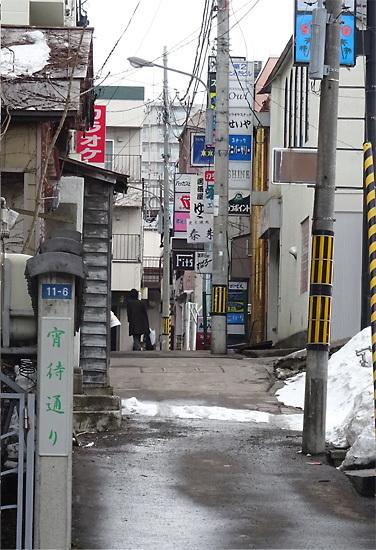 小樽 宵町通り