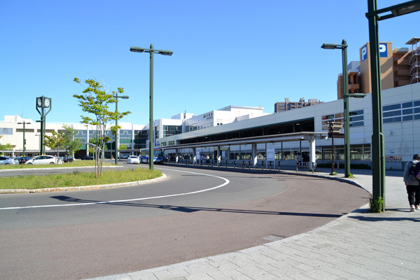 JR手稲駅北口