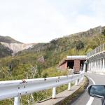道が消えて30年が過ぎたオロフレ峠展望台