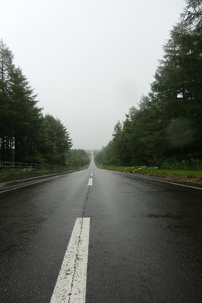 開陽台への道