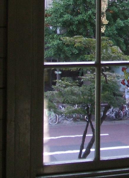 時計台の窓ガラス