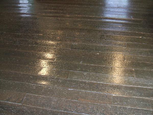 札幌時計台の床