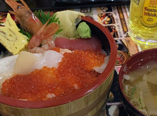 恵美須商店 手稲店の海鮮丼