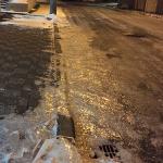 凍った道路は足元だけに気をとられるな