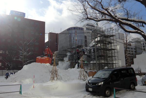 大雪像制作