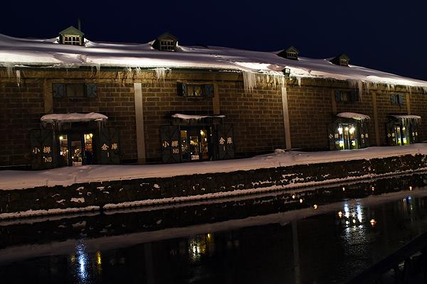 小樽運河の倉庫