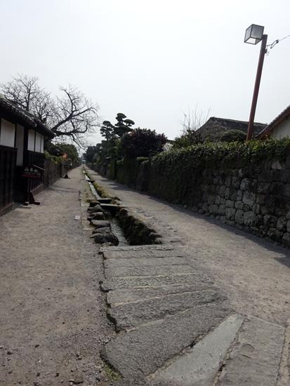 島原 武家屋敷 用水路