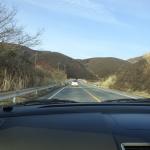 春の野焼きをくぐって阿蘇大観峰へ