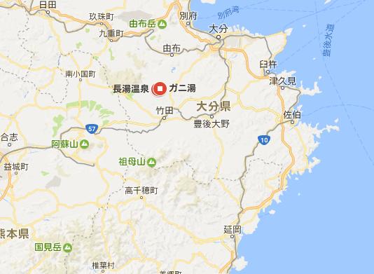 ガニ湯 map