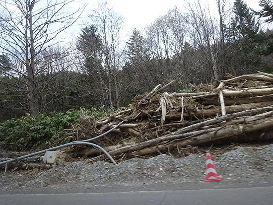 南ふらの台風9号の被害