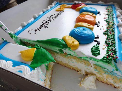 コストコのケーキ はらぺこあおむし