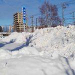 手稲の雪は、ただいま22cm