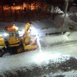 ロータリー除雪車はこうやって雪を飛ばしてる