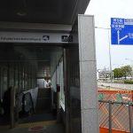 同じ車輛を地下鉄とJRに変身させる姪浜駅