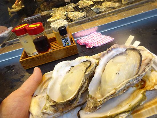 宮島 焼き牡蠣