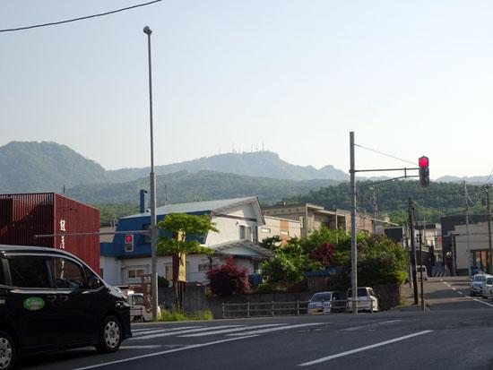 6月4日の手稲山