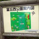 富丘西公園は野生のスズラン群生地のある公園