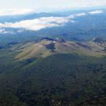航空写真 恵庭岳、風不死岳、樽前山へ