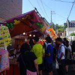 手稲神社の祭り と がる川どじょうまつり 2つは同時開催