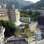 定山渓ホテルの滑り台はツルツルスピード