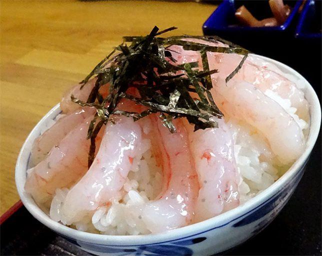 エビ丼定食