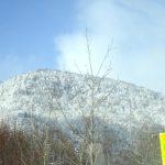 層雲峡温泉は谷間を駆け抜けるカルマン渦