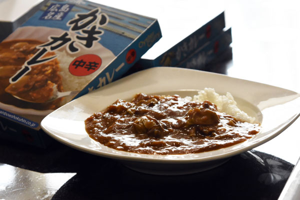 広島牡蠣カレー