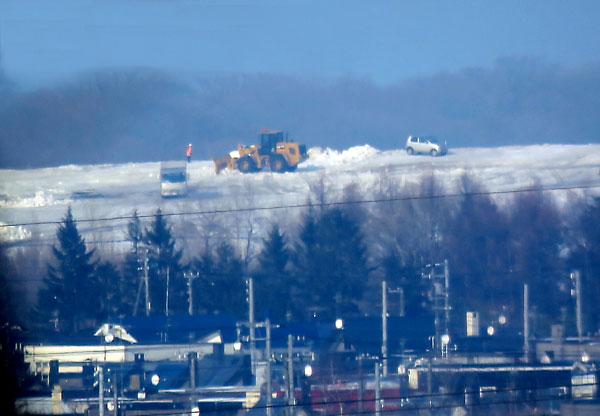 札幌市 雪捨て場