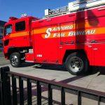 手稲消防署の消防車 今度は見せるよ