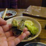 亀の手の塩茹でを幾つも食べた(四国の旅5)