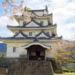 宇和島城は花の散策路(四国の旅7)