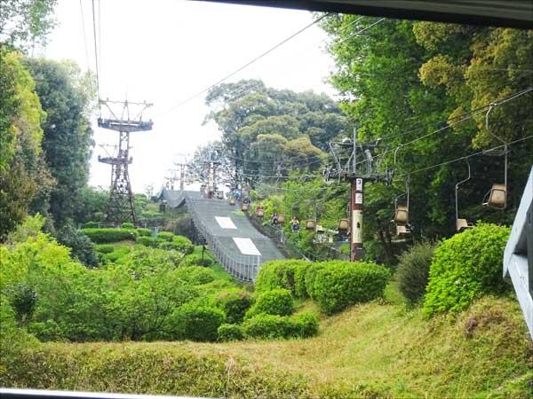 松山城ロープウィ
