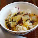 鯛飯を宇和島城下の海鮮料理一心で(四国の旅8)