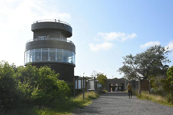 ウトナイ湖展望室